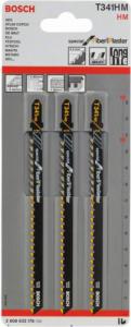 Пилки универсальные BOSCH T341HM (3шт.) 2608633176